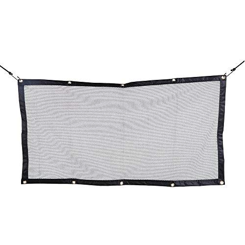 Car Pet Predection Net, Car Pet Barrier Safety Net for Dog, Dog Barrier Car Divider Net for All Kinds of Car Front Seat Back, 120cm X 70cm