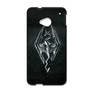 monster black background personalized high quality cell phone case for HTC M7
