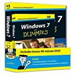 img - for Windows 7 For Dummies, Book + DVD Bundle book / textbook / text book