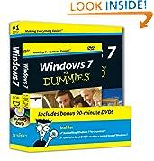 #7: Windows 7 For Dummies, Book + DVD Bundle