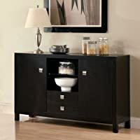 247SHOPATHOME Idf-3311SV Sideboards, Espresso