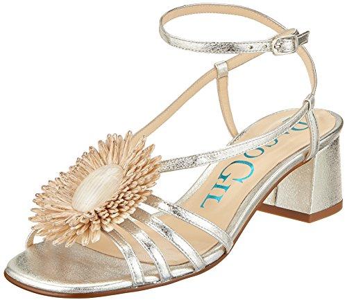 Ankle Paco Strap P Women's Gil Silver Silver Sandals 3415 Silver PrcqrIA