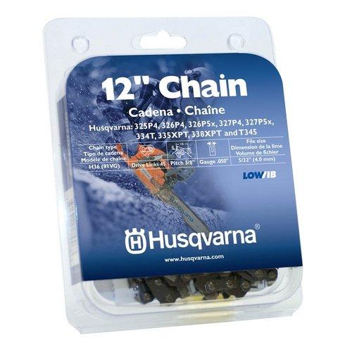 Husqvarna 531300448 12-Inch H36-45 (91VG) Lo-Pro Saw Chain, 3/8-Inch by .050-Inch