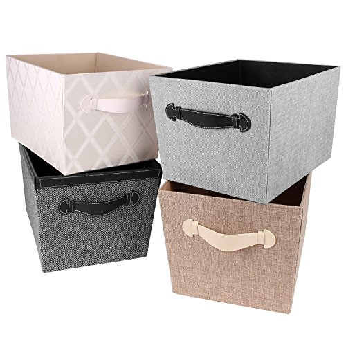 Lovely Amazon.com: Creative Scents Fabric Decorative Storage Basket (Gray Birch):  Home U0026 Kitchen