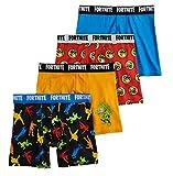 Fortnite Boys 4-Pack Boxer Briefs Underwear (8)