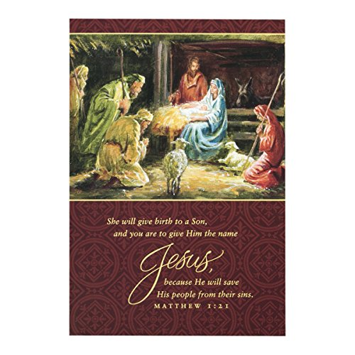 DaySpring She Will Give Birth to a Son Christmas Boxed Standard Collection (8198350701)
