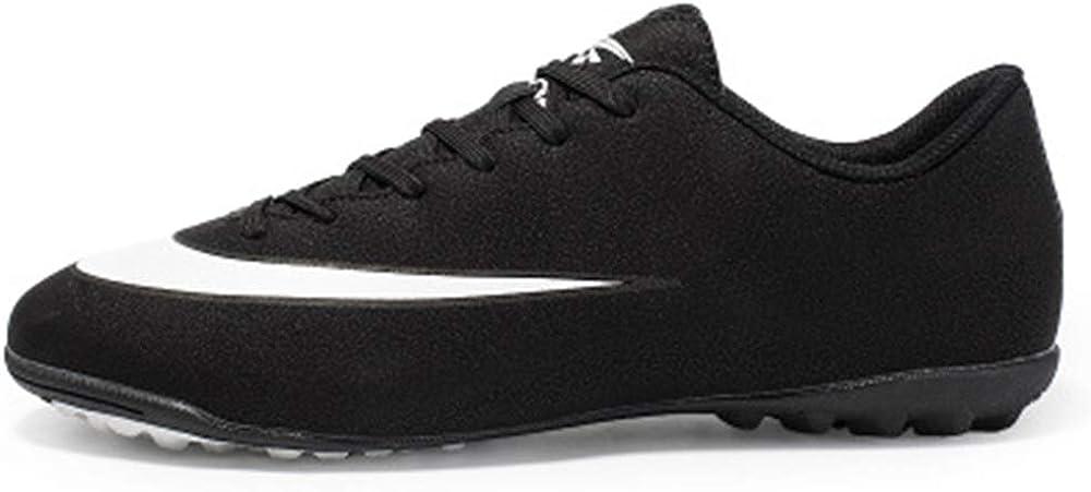 Newhaa Chaussures de Soccer pour Hommes Sports Baskets athl/étiques Gazon Mundial Team Cleat Running