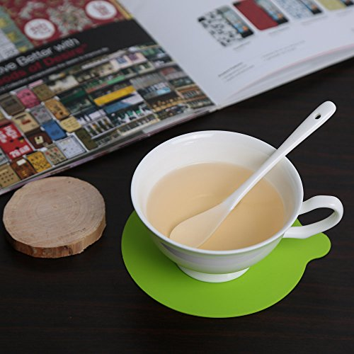 Placemats Dinnerware (New 1PC Round Silicone Cup Coaster Mat Pad Tableware Dinnerware Placemat Kitchen Dining Bar Heat Resistant Mat Accessories Tools)