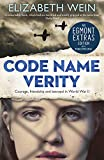 Front cover for the book Code Name Verity by Elizabeth Wein