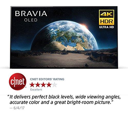 Sony XBR55A1E 55-Inch 4K Ultra HD Smart BRAVIA OLED TV (2017 Model)