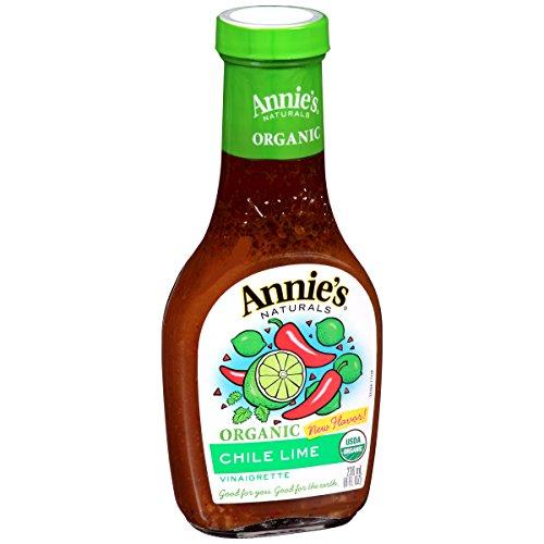Annie's Organic Gluten Free Chile Lime Vinaigrette Dressing 8 fl oz Bottle