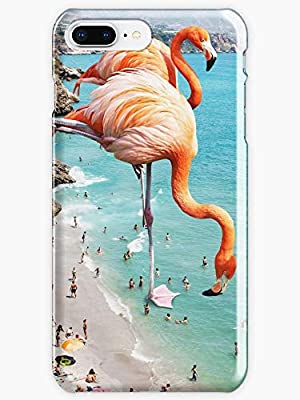 the best attitude 91577 d653b Flamingos on the Beach #redbubble #decor Phone Case for Apple Iphone ...