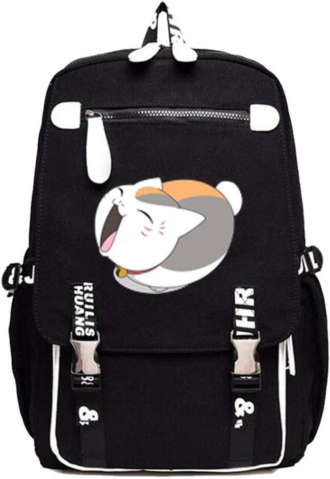 Gumstyle Natsume Yuujinchou Anime Cosplay Laptop Backpack Book Bag Rucksack Schoolbag for Students 10