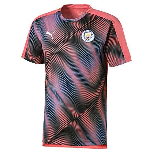 PUMA Manchester City FC Stadium League 2019-2020, Camiseta, Georgia Peach Black