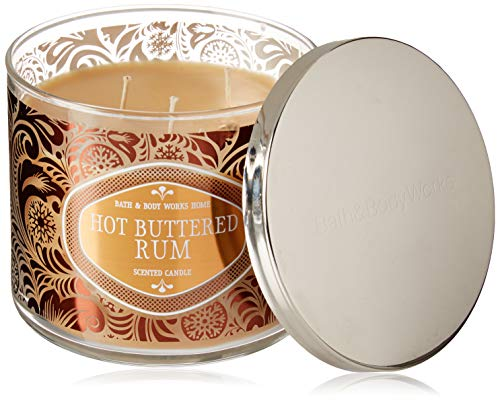 Bath and Body Works Hot Buttered Rum 3 Wick Candle