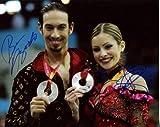 TANITH BELBIN & BENJAMIN AGOSTO dual signed *OLYMPIC FIGURE SKATING* 8x10 Photo W/COA #3