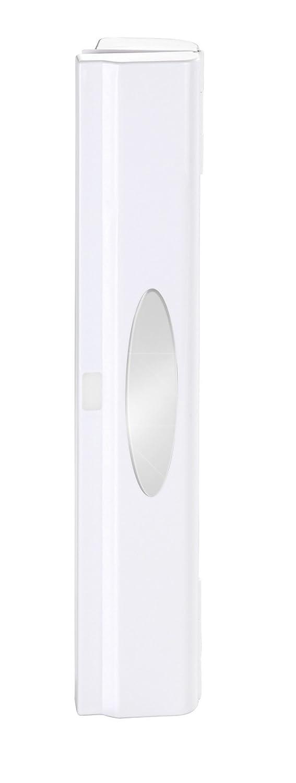 WENKO 86674100 Distributeur de Film Alimentaire Perfect Cutter Blanc, Plastique, 38 x 5,2 x 6,7 cm