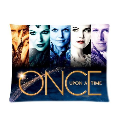 Pop Fantasy Fairy Tale TV Serise Once Upon A Time Roles Collage Personalized Custom Cotton Polyester Soft Pillowcase Cover 20