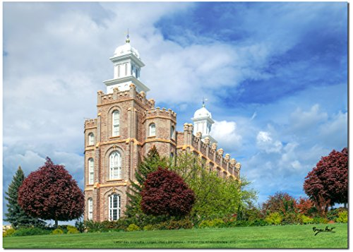 Latter-day Strengths Logan Utah Graceful LDS Temple - 7