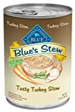 Blue Buffalo Hearty Turkey Stew For Dogs, (Pack Of 12, 12.5-Ounce Cans) For Sale