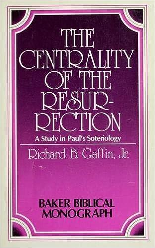 Libros en formato pdf descargadosThe centrality of the Resurrection: A study in Paul's soteriology (Baker Biblical monograph) by Richard B Gaffin (1978-08-02) B01K1390P6 in Spanish DJVU
