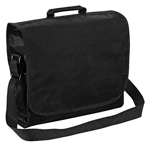 Quadra Plain Record/Messenger Bag (9litros) negro