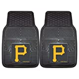 FANMATS MLB Pittsburgh Pirates Vinyl Heavy Duty Car Mat