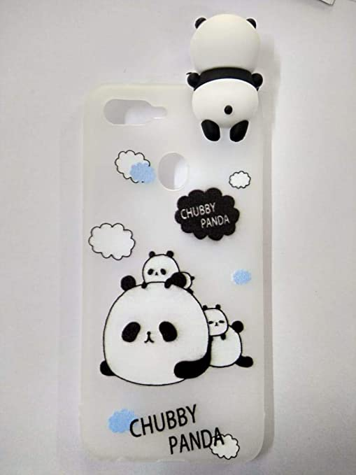 9dc5dd2b15 Generic Cute Soft Silicone Chubby Panda Back Cover for: Amazon.in:  Electronics