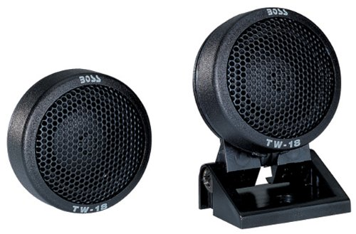 BOSS Audio Systems BossTW18 Micro Dome tweeters(Sold in Pairs) Swivel Mount