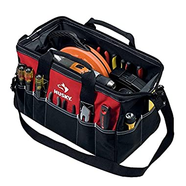 Husky 18 Inch Tool Bag w/ Shoulder Strap