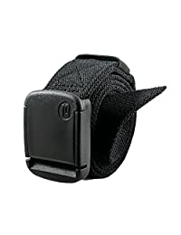 "1.25"" Elastic Stretch Belt (Large, Black)"