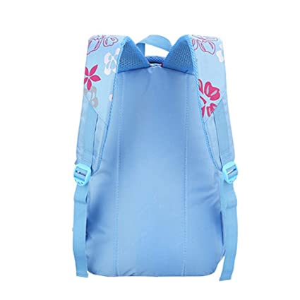 7c0df37cb698 Image Unavailable. Image not available for. Color  Wintefei Useful  Schoolbag Fashion Girl Children Student School Floral Print Backpack ...