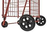 Sandusky FSC3012 Folding Shopping Cart, 66 lbs