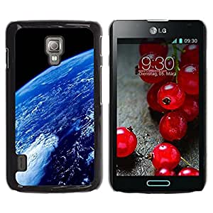 Be Good Phone Accessory // Dura Cáscara cubierta Protectora Caso Carcasa Funda de Protección para LG Optimus L7 II P710 / L7X P714 // Space Planet Galaxy Stars 69