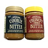 Trader Joe's Speculoos Cookie Butter 2 Jar Pack (Crunchy and Smooth)