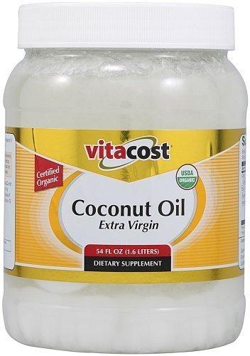 Vitacost Extra Virgin Certified Organic Coconut Oil -- 54...