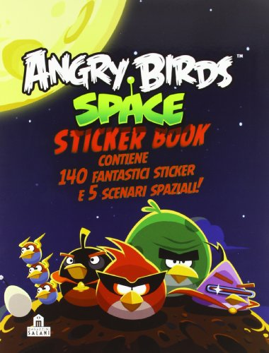 angry birds space sticker book - 7