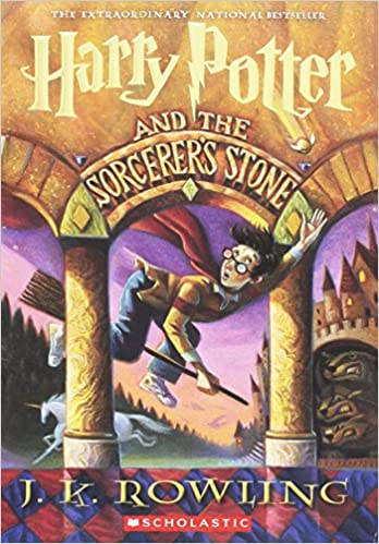 Image result for harry potter and the sorcerer's stone book