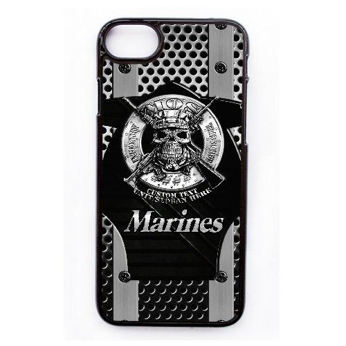 Coque,Apple Coque iphone 7 (4.7 pouce) Case Coque, Generic Usmc Marines Cover Case Cover for Coque iphone 7 (4.7 pouce) Noir Hard Plastic Phone Case Cover