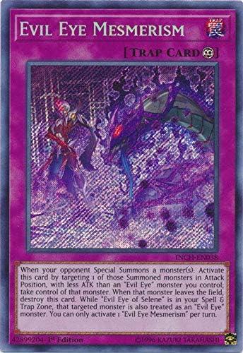 1st Edition INCH-EN032 Evil Eye of Selene - Secret Rare