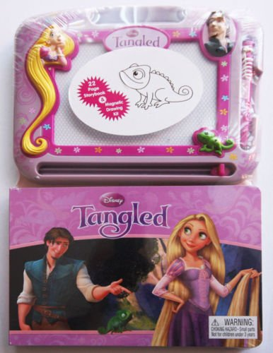 Tangled 22 Page Storybook & Magnetic Drawing - Magnetic Drawing Kit