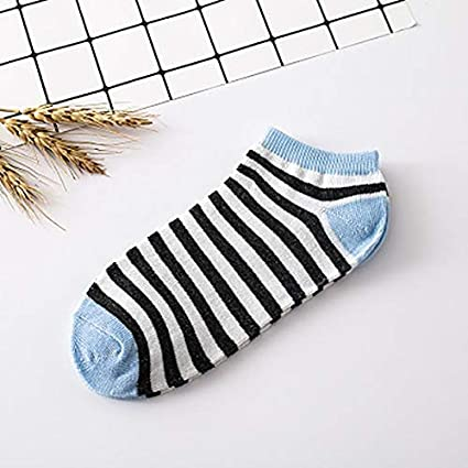 Wall of Dragon Women Socks Cotton Low Cut Ankle Socks Womens Striped Socks Winter Warm Calcetines