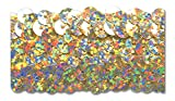 GOLD HOLOGRAM 1-1/4 INCH STRETCH SEQUIN 10 Yards