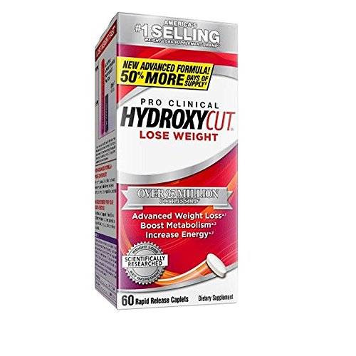 Hydroxycut Pro Clinical, America's Number 1 Selling Weight Loss Brand, Weight Loss Supplement 60 - Lose Clinical Pro Weight