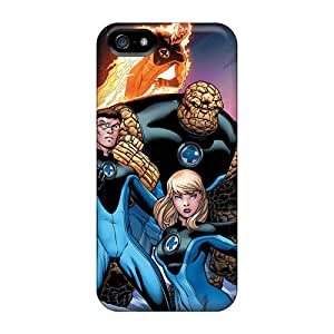 First-class Cases Covers For Iphone 5/5s Dual Protection Covers Fantastic Four I4
