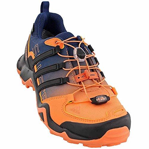 Adidas Terrex Hurtig R Gtx Let Orange / Sort / Mysterium Blå Kvinders Vandresko - 9,5 B (m) Os