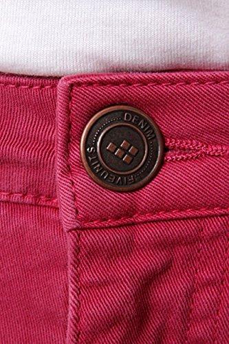 FiveUnits 5Units Damen Jeans Skinny Boyfriend Jeans Jolie Dunkelrot DDLo77MV