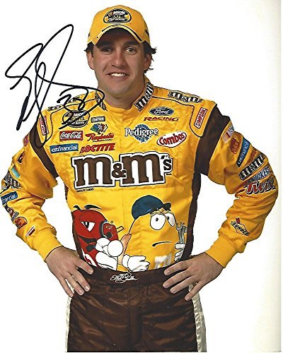 Signed Elliott Sadler Photo - DRIVER from 1997 thru 2013 3 WINS 19 T 5 69 T 10 8x10 Color - Autographed NASCAR Photos