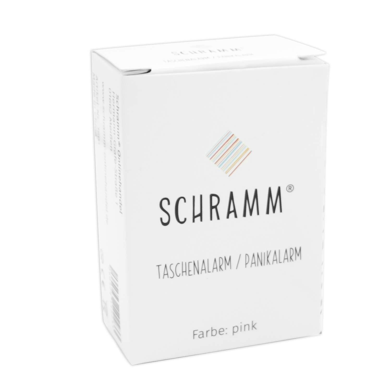 Schramm/® Pocket Alarm Pink Panic Alarm Self Protection 130dB Key Chain Pocket Alarm Key Panic Self Defense