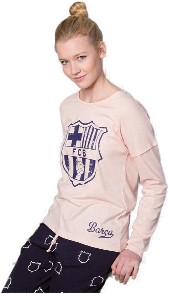 Pijama Mujer FC Barcelona Oficial 2017-2018